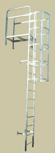 ladder-with-cage